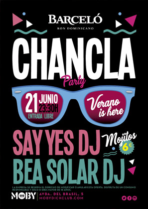 CHANCLA PARTY
